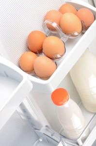 Jaja w lodówce