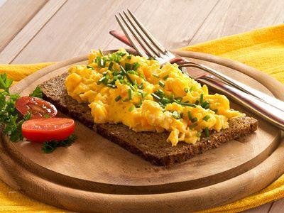 Jajecznica najprostsza na świecie