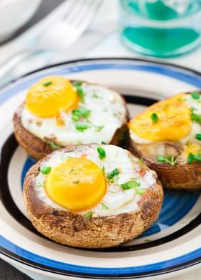 Jajko w pieczarce