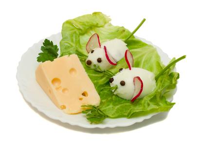 Jajeczne myszki